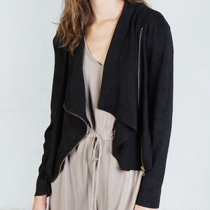 Mod Ref Women's The Maxwell Faux Suede Jacket